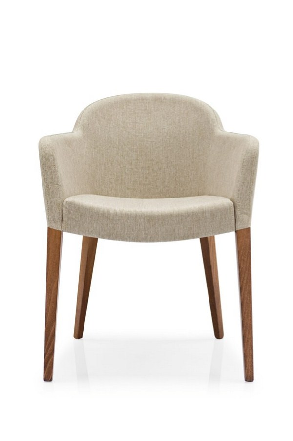 calligaris stuhl gossip cs 1110 gestell buche nuss stoff new delhi sand ebay. Black Bedroom Furniture Sets. Home Design Ideas