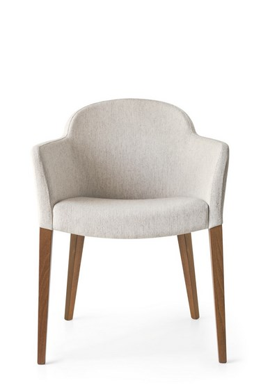 calligaris stuhl gossip cs 1110 gestell buche massiv stoff denver sand ebay. Black Bedroom Furniture Sets. Home Design Ideas