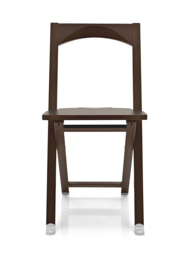 2 x calligaris folding chair olivia cs 208 in cherry or wenge ebay - Tavolo olivia pocket calligaris ...